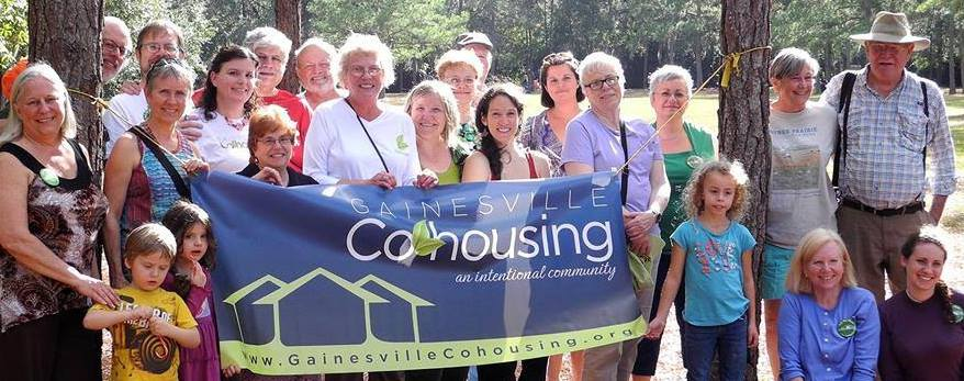 Group photo of Gainesville cohousing
