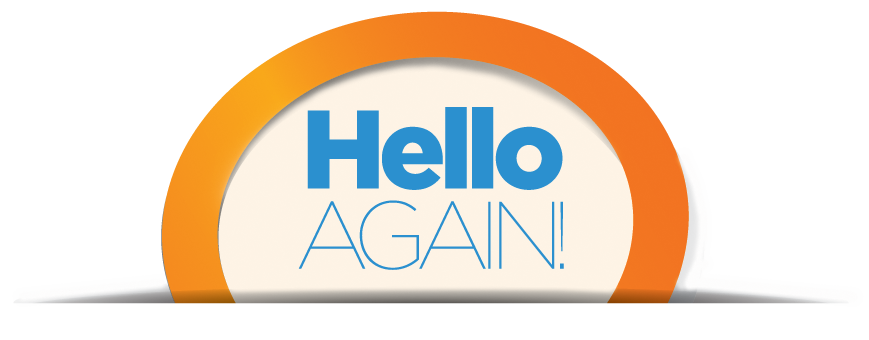 Hello Again text